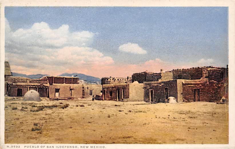 Pueblo of San Ildefonso NM