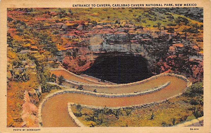 Carslbad Cavern National Pak NM