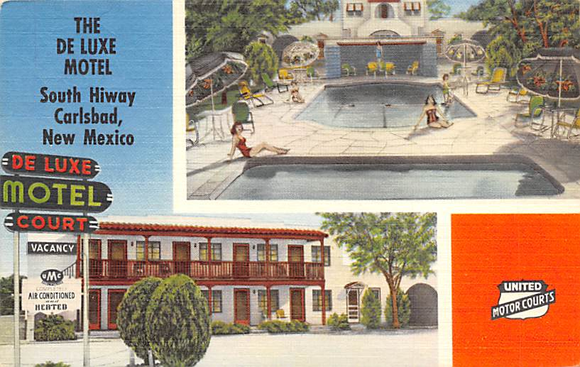 Carlsbad De Luxe Motel NM
