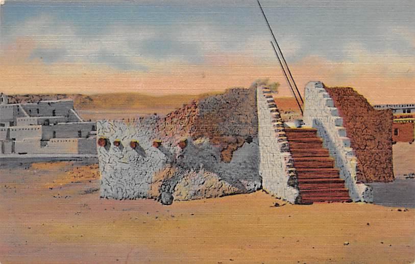 Pueblo of Indian Estufa NM