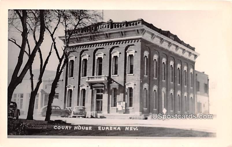 Court House - Eureka, Nevada NV Postcard