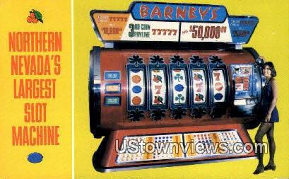 Largest Slot Machine - Las Vegas, Nevada NV Postcard