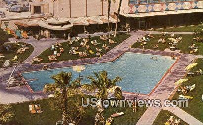 Stardust Hotel Pool - Las Vegas, Nevada NV Postcard