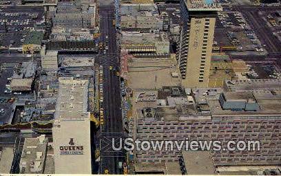 Casino Center - Las Vegas, Nevada NV Postcard