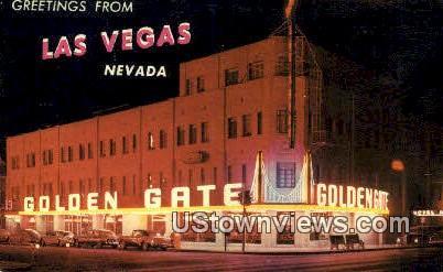 Golden Gate - Las Vegas, Nevada NV Postcard