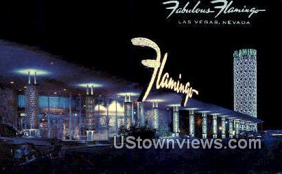 Fabulous Flamingo Hotel - Las Vegas, Nevada NV Postcard