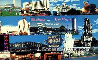 Strip - Las Vegas, Nevada NV Postcard