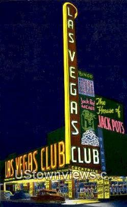 Largest Sign West of Chicago, House of Jackpots - Las Vegas, Nevada NV Postcard