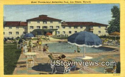 Hotel Thunderbird - Las Vegas, Nevada NV Postcard