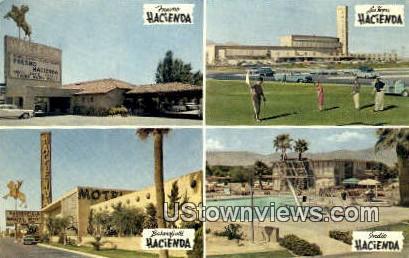 Fresno Hacienda - Las Vegas, Nevada NV Postcard