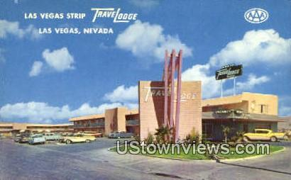 Las Vegas Strip Travelodge - Nevada NV Postcard