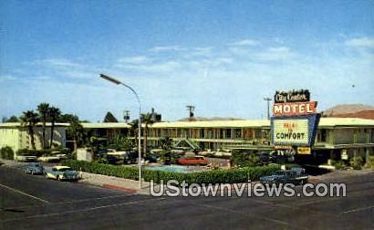 City Center Motel - Las Vegas, Nevada NV Postcard