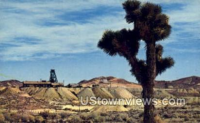 Abandoned Mines, Ghost Town - Goldfield, Nevada NV Postcard