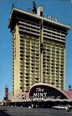 Mint Hotel Casino - Las Vegas, Nevada NV Postcard