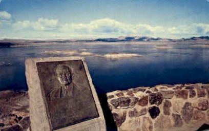 Dr. Elwood Mead - Lake Mead, Nevada NV Postcard