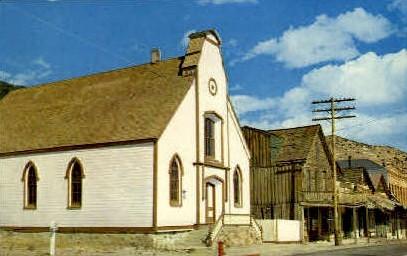 Presbyterian Church - Virginia City, Nevada NV Postcard