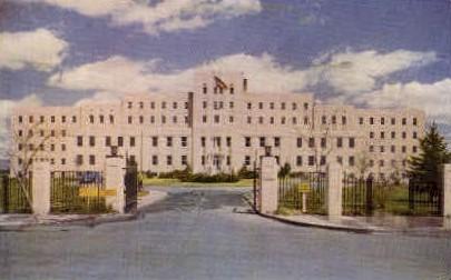 U.S. Veterans' Administration Hospital - Reno, Nevada NV Postcard