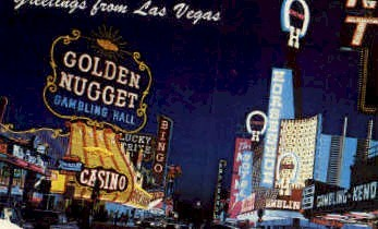 Greetings from - Las Vegas, Nevada NV Postcard