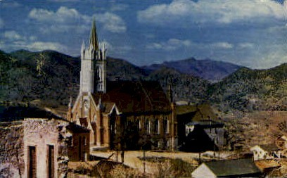 St. Mary's in the Mountains - Virginia City, Nevada NV Postcard