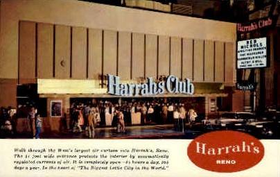 Harrah's Club - Reno, Nevada NV Postcard