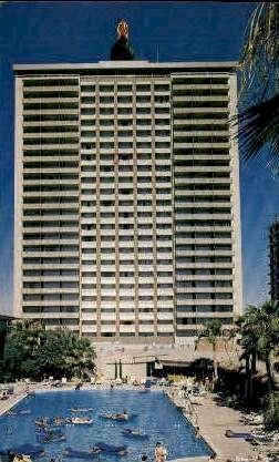 Del Webb's Hotel Sahara - Las Vegas, Nevada NV Postcard