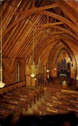St. Paul's Episcopal Church - Virginia City, Nevada NV Postcard
