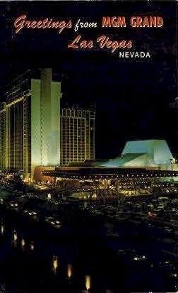 Greetings from MGM GRAND - Las Vegas, Nevada NV Postcard