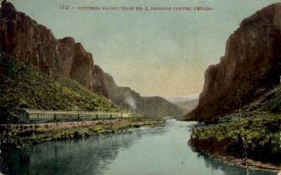 Southern Specific Train - Palisade Canyon, Nevada NV Postcard