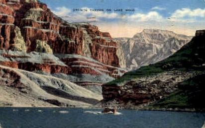 Granite Canyon - Lake Mead, Nevada NV Postcard