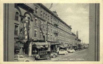 Hotel Golden - Reno, Nevada NV Postcard