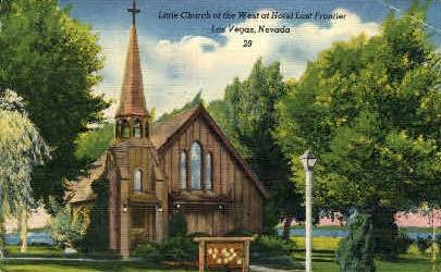 Little Church of the West - Las Vegas, Nevada NV Postcard