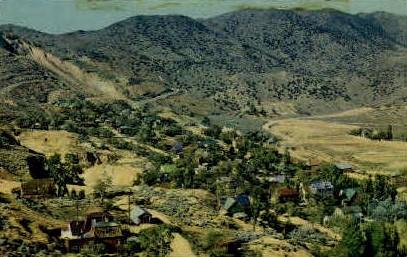 North End - Virginia City, Nevada NV Postcard