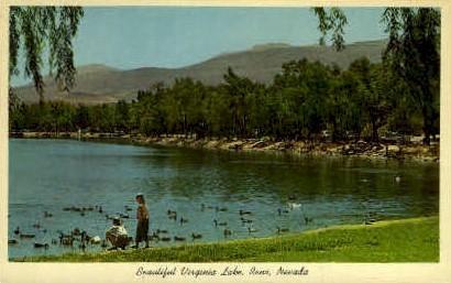 Virginia Lake - Reno, Nevada NV Postcard