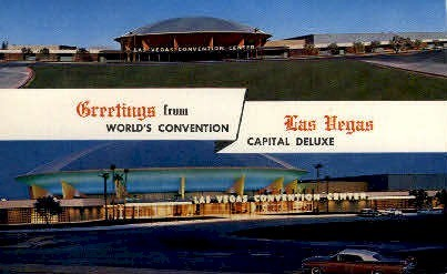 World's Covention Capital Deluxe - Las Vegas, Nevada NV Postcard