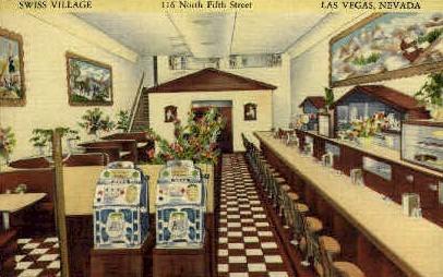Swiss Village - Las Vegas, Nevada NV Postcard
