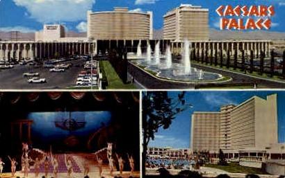 Caesar's Palace Hotel - Las Vegas, Nevada NV Postcard