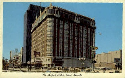 The Mapes Hotel - Reno, Nevada NV Postcard