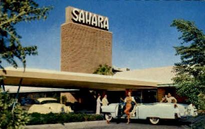 The Hotel Sahara - Las Vegas, Nevada NV Postcard
