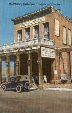 Territorial Enterprise - Virginia City, Nevada NV Postcard