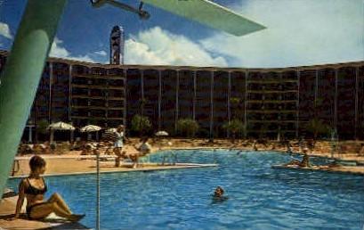 Frontier Hotel - Las Vegas, Nevada NV Postcard