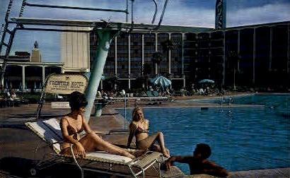 The Frontier Hotel - Las Vegas, Nevada NV Postcard