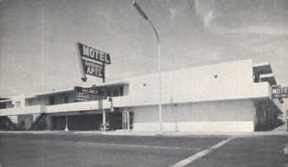 Downtowner Apartment Hotel - Las Vegas, Nevada NV Postcard