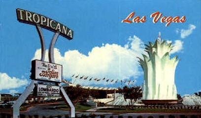 The Tropicana Hotel - Las Vegas, Nevada NV Postcard