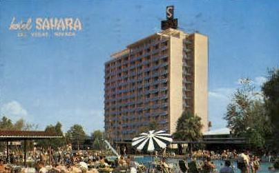 Sahara Hotel - Las Vegas, Nevada NV Postcard