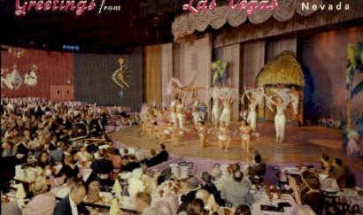 Venus Room, New Frontier Hotel - Las Vegas, Nevada NV Postcard