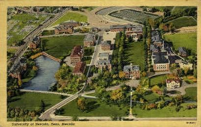 University of Nevada - Reno Postcard