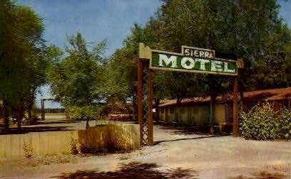 Sierra Motel - Lovelock, Nevada NV Postcard