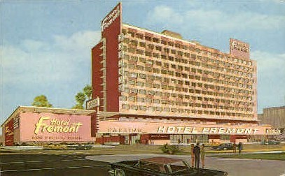 Fremont Hotel - Las Vegas, Nevada NV Postcard