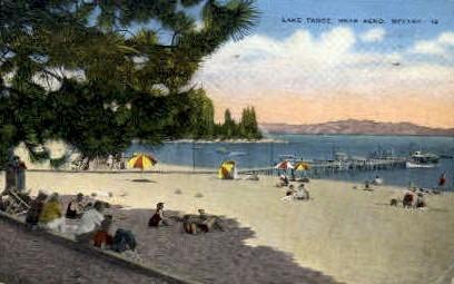 Lake Tahoe   - Reno, Nevada NV Postcard