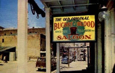 Bucket of Blood Saloon - Reno, Nevada NV Postcard